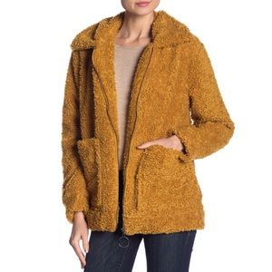 Steve Madden Cozy Faux Shearling Teddy Jacket